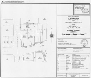Photo 4: 50 Street 53 Avenue: Thorsby Vacant Lot for sale : MLS®# E4257264