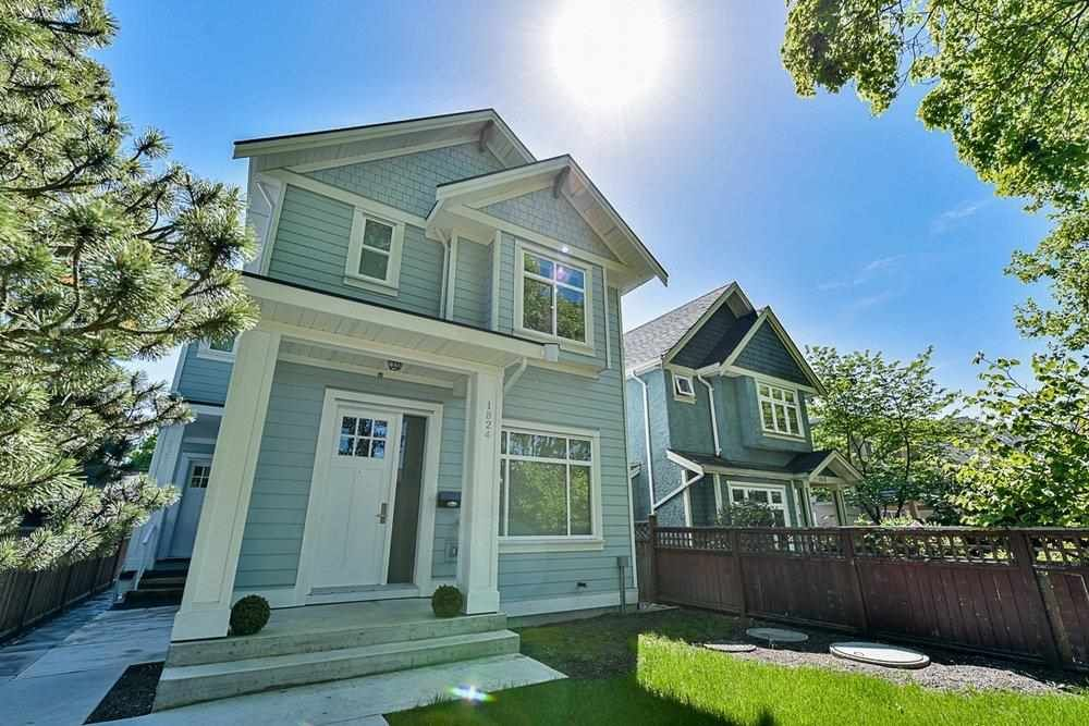 Main Photo: 1824 E 13TH Avenue in Vancouver: Grandview Woodland 1/2 Duplex for sale (Vancouver East)  : MLS®# R2581769