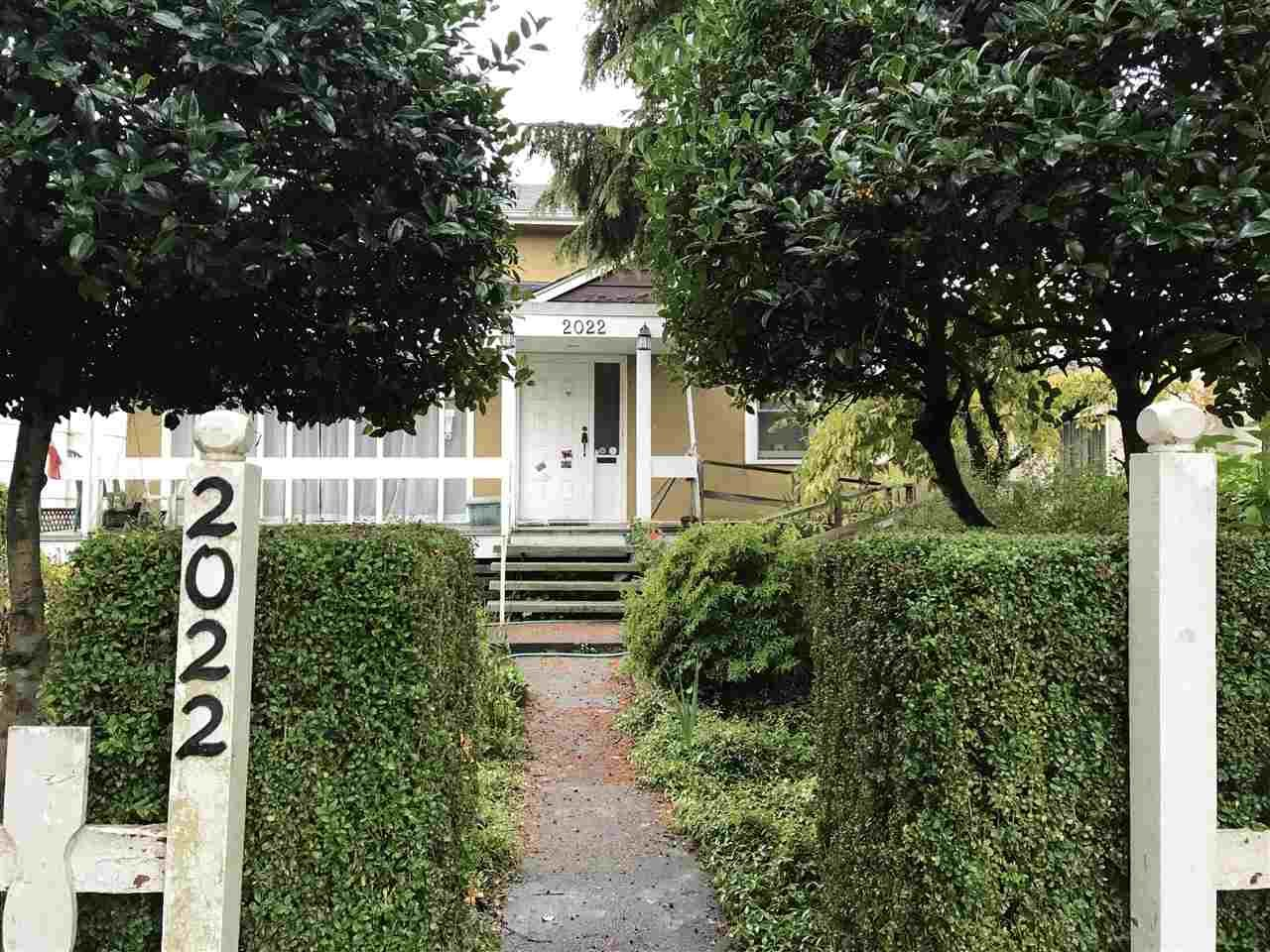Main Photo: 2022 W 61ST Avenue in Vancouver: S.W. Marine House for sale (Vancouver West)  : MLS®# R2216054