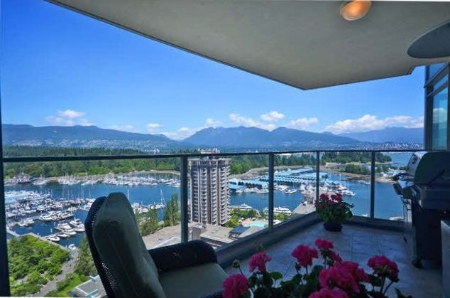 Main Photo: 1616 Bayshore Drive in Vancouver: Coal Harbour Condo for rent (Vancouver West)