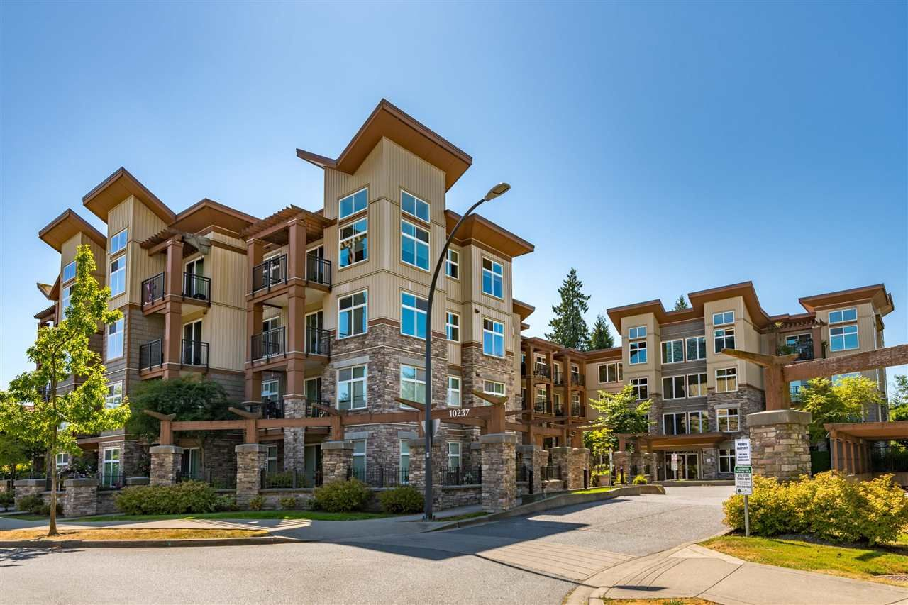 """Main Photo: 110 10237 133 Street in Surrey: Whalley Condo for sale in """"ETHICAL GARDENS AT CENTRAL CITY"""" (North Surrey)  : MLS®# R2592502"""
