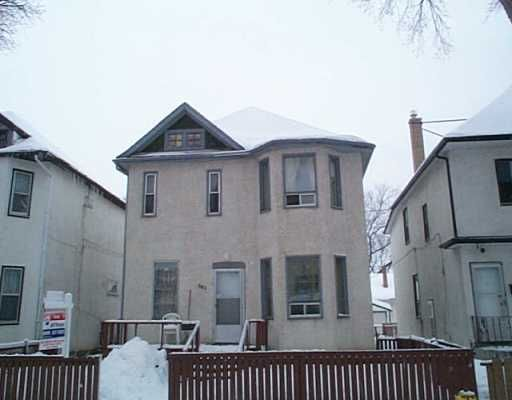 Main Photo: 562 COLLEGE Avenue in Winnipeg: North End Single Family Detached for sale (North West Winnipeg)  : MLS®# 2502830