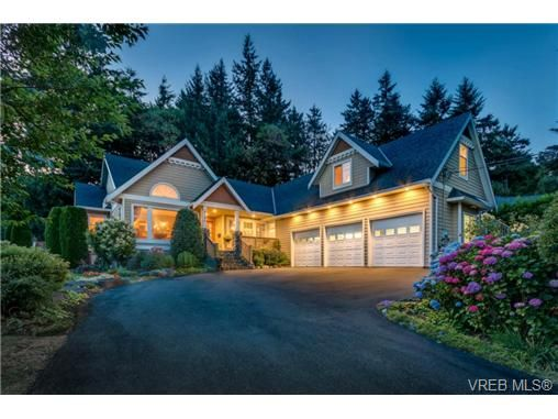 Main Photo: NORTH SAANICH REAL ESTATE For Sale SOLD With Ann Watley = DEAN PARK LUXURY HOME