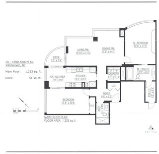 Photo 22: # 1A-1500 Alberni St. in Vancouver: Downtown VW Condo for sale (Vancouver West)  : MLS®# V1063892