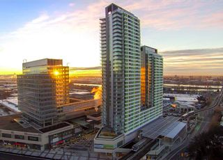 "Photo 1: 1603 488 SW MARINE Drive in Vancouver: Marpole Condo for sale in ""Marine Gateway"" (Vancouver West)  : MLS®# R2517856"