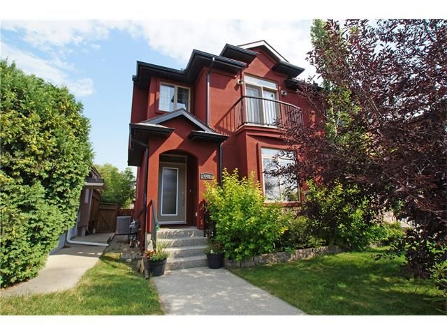 Main Photo: 448 25 AV NW in Calgary: Mount Pleasant Attached for sale : MLS®# C4025507