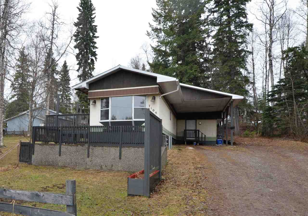 """Main Photo: 7105 CARIBOU Road in Prince George: Lafreniere Manufactured Home for sale in """"Lafreniere"""" (PG City South (Zone 74))  : MLS®# R2573121"""