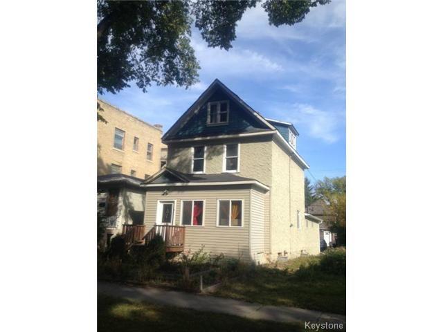 Main Photo: Photos: 371 Home Street in WINNIPEG: West End / Wolseley Residential for sale (West Winnipeg)  : MLS®# 1321837