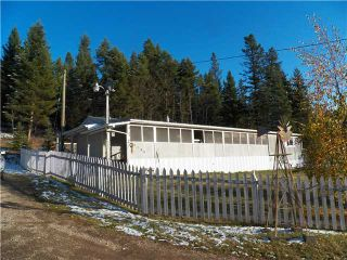 Photo 1: 3748 HILLSIDE Road in Williams Lake: Williams Lake - Rural North Manufactured Home for sale (Williams Lake (Zone 27))  : MLS®# N223274