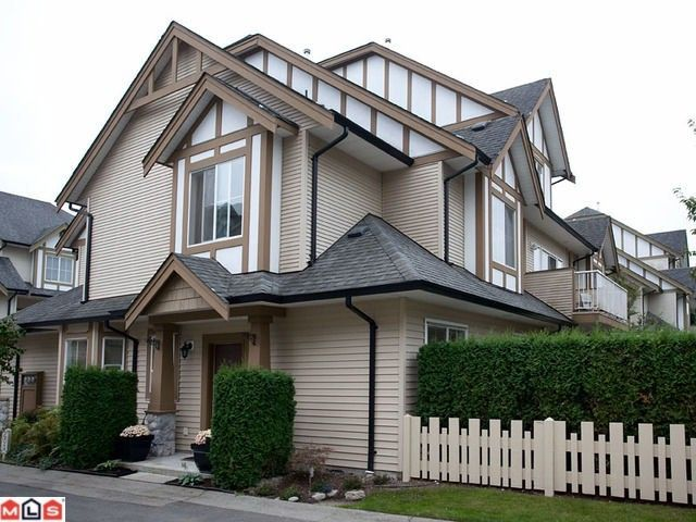 """Main Photo: 42 18707 65TH Avenue in Surrey: Cloverdale BC Townhouse for sale in """"The Legends"""" (Cloverdale)  : MLS®# F1124254"""