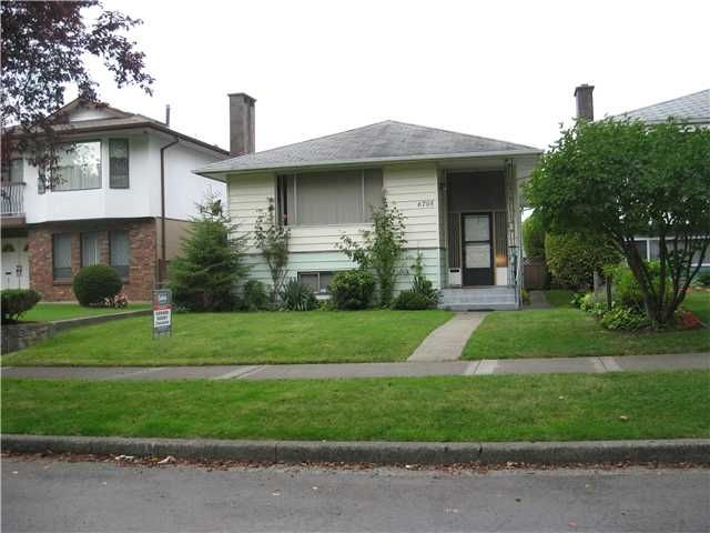 Main Photo: 6705 BROOKS Street in Vancouver: Killarney VE House for sale (Vancouver East)  : MLS®# V910410