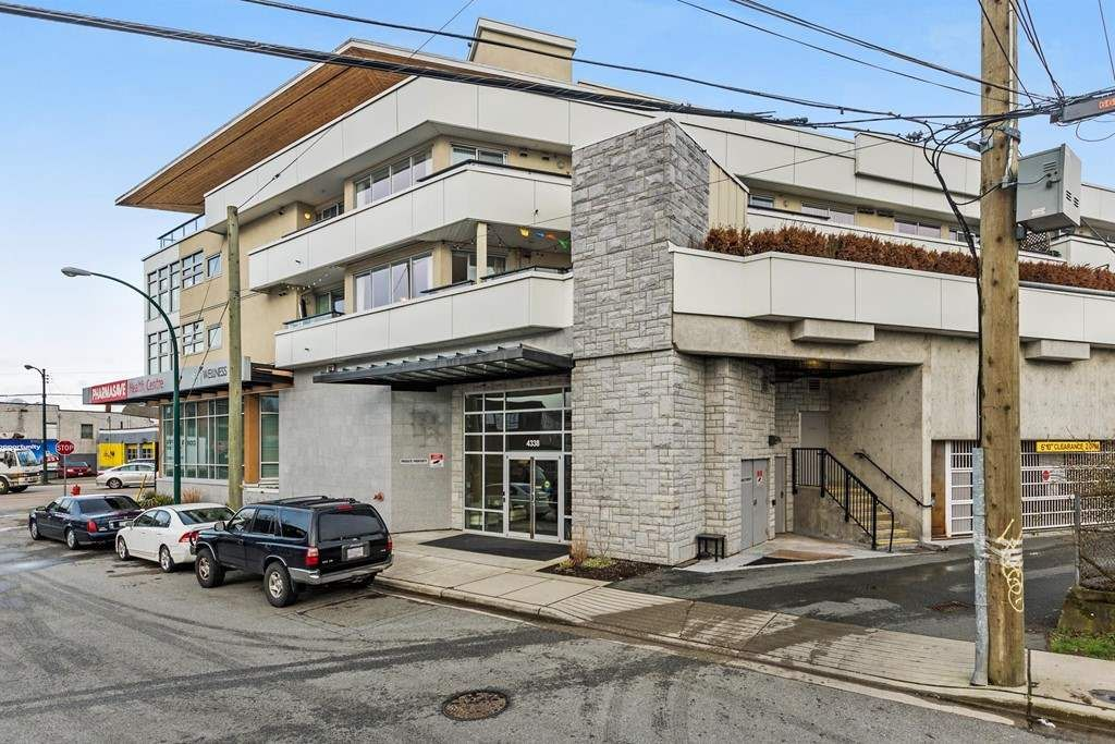 Main Photo: 203 4338 COMMERCIAL Street in Vancouver: Victoria VE Condo for sale (Vancouver East)  : MLS®# R2242329