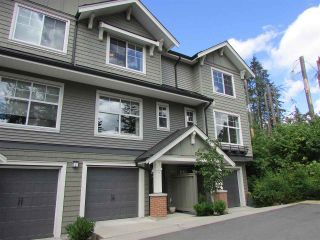 """Photo 1: 18 3470 HIGHLAND Drive in Coquitlam: Burke Mountain Townhouse for sale in """"BRIDLEWOOD"""" : MLS®# R2181948"""