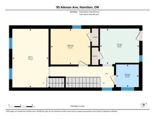 Photo 47: 95 Aikman Avenue in Hamilton: House for sale : MLS®# H4091560