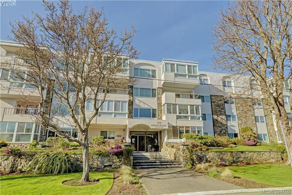 The beautiful and well established Anchorage Building located in the desirable neighbourhood of Oak Bay!