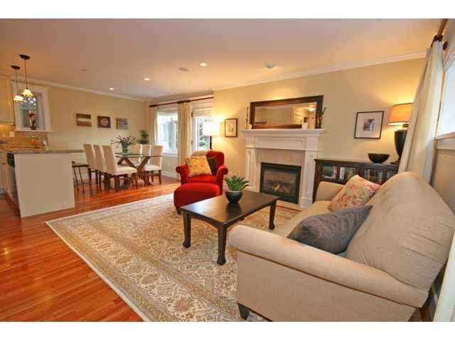 """Photo 3: Photos: 3538 W 5TH Avenue in Vancouver: Kitsilano Townhouse for sale in """"BOEUR HOUSE"""" (Vancouver West)  : MLS®# V822581"""