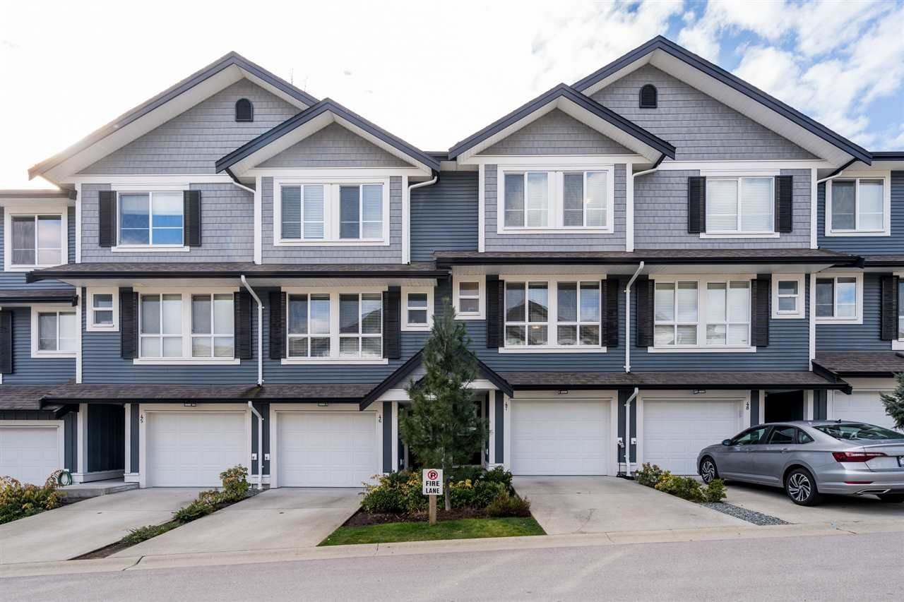 """Main Photo: 47 7157 210 Street in Langley: Willoughby Heights Townhouse for sale in """"ALDER AT MILNER HEIGHTS"""" : MLS®# R2551984"""