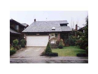 Photo 1: 2806 MCCOOMB DR in coquitlam: Eagle Ridge CQ House for sale (Coquitlam)  : MLS®# V857405