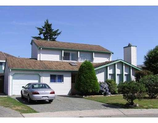 Main Photo: 4071 BURTON AV in Richmond: Quilchena RI House for sale : MLS®# V561923