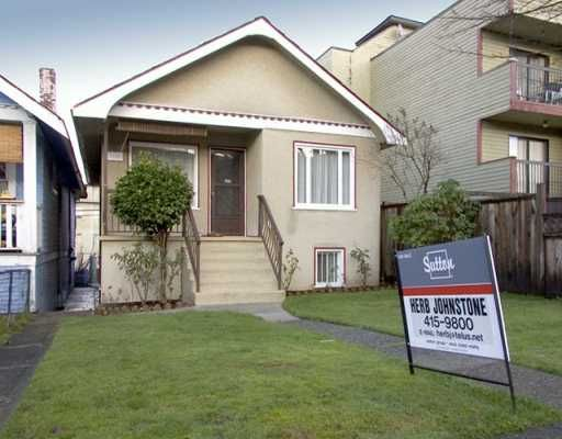 Main Photo: 2139 TRIUMPH Street in Vancouver: Hastings House for sale (Vancouver East)  : MLS®# V621626