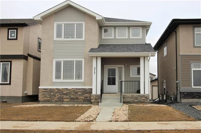 Main Photo: 317 Appleford Gate in Winnipeg: Bridgwater Lakes Residential for sale (1R)  : MLS®# 1918462