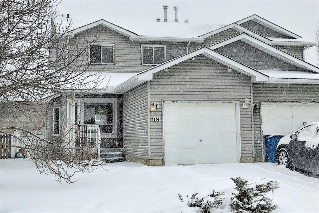 Main Photo: 14 Everglade Drive SE: Airdrie Semi Detached for sale : MLS®# A1067216