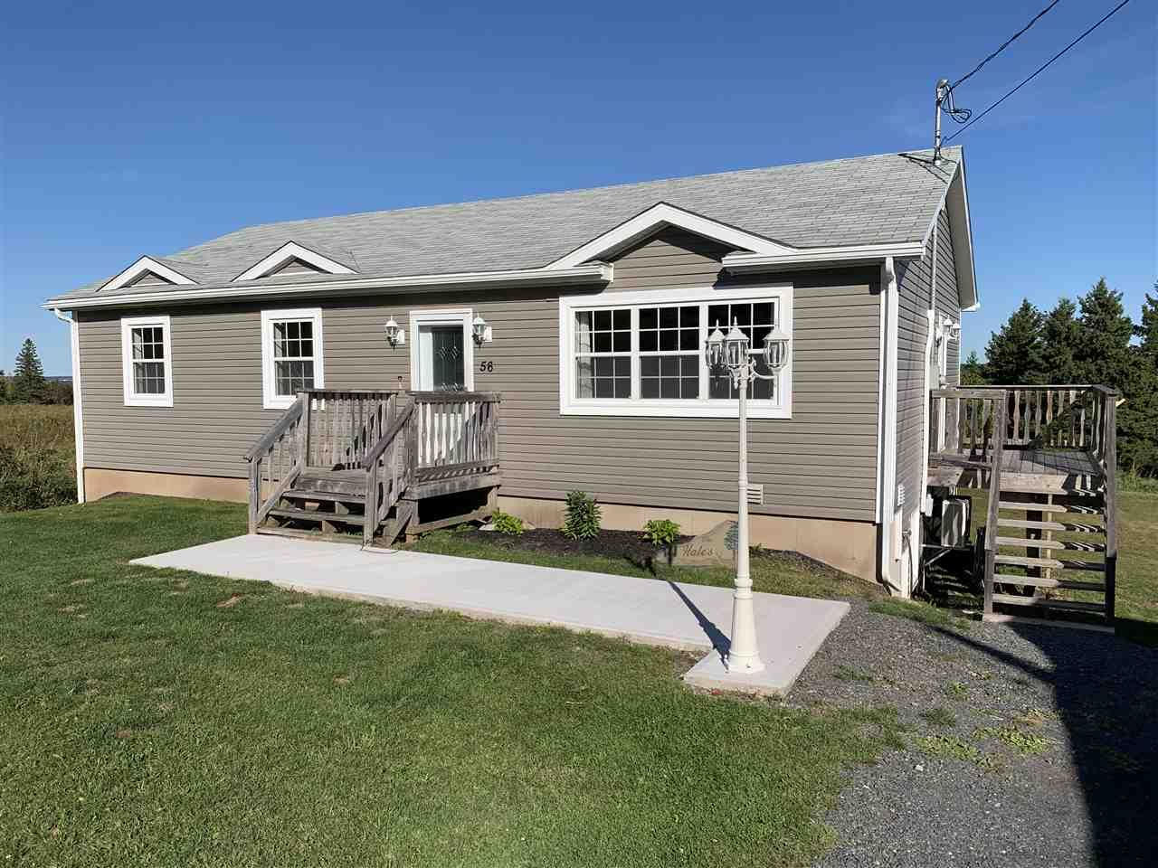 Main Photo: 56 Douglas Road in Alma: 108-Rural Pictou County Residential for sale (Northern Region)  : MLS®# 202020036