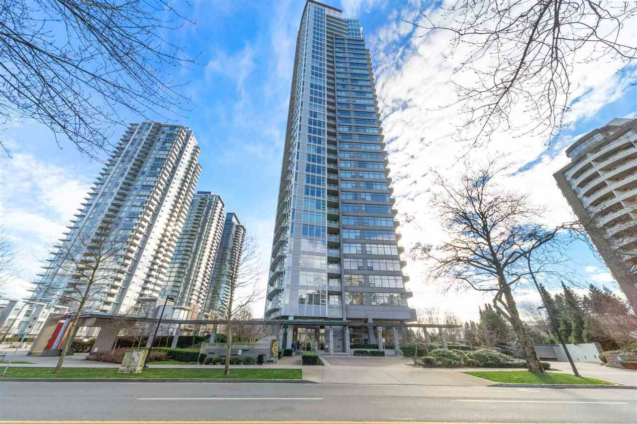 Main Photo: 606 4880 BENNETT STREET in Burnaby: Metrotown Condo for sale (Burnaby South)  : MLS®# R2537281