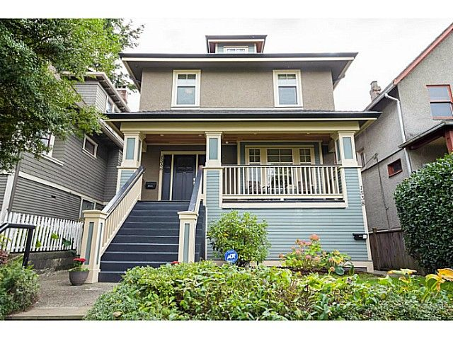 """Main Photo: 1536 E 13TH Avenue in Vancouver: Grandview VE House for sale in """"COMMERCIAL DRIVE"""" (Vancouver East)  : MLS®# V1088551"""