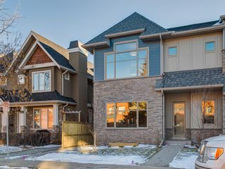 Main Photo: 1 2417 2 Avenue NW in Calgary: West Hillhurst Row/Townhouse for sale : MLS®# A1120306