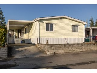 """Main Photo: 224 27111 0 Avenue in Langley: Otter District Manufactured Home for sale in """"Pioneer Park"""" : MLS®# R2626861"""