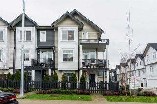 "Photo 1: 1 7665 209 Street in Langley: Willoughby Heights Townhouse for sale in ""Archstone-Yorkson"" : MLS®# R2232525"