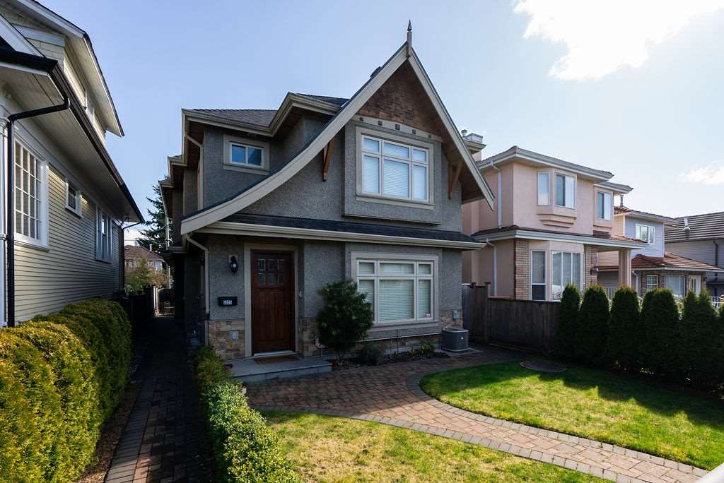 Main Photo: 8478 SHAUGHNESSY Street in Vancouver: Marpole 1/2 Duplex for sale (Vancouver West)  : MLS®# R2555394