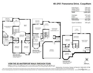 """Photo 20: 40 2951 PANORAMA Drive in Coquitlam: Westwood Plateau Townhouse for sale in """"STONEGATE ESTATES"""" : MLS®# R2285642"""