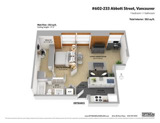 Photo 20: 602 233 ABBOTT STREET in Vancouver: Downtown VW Condo for sale (Vancouver West)  : MLS®# R2406307