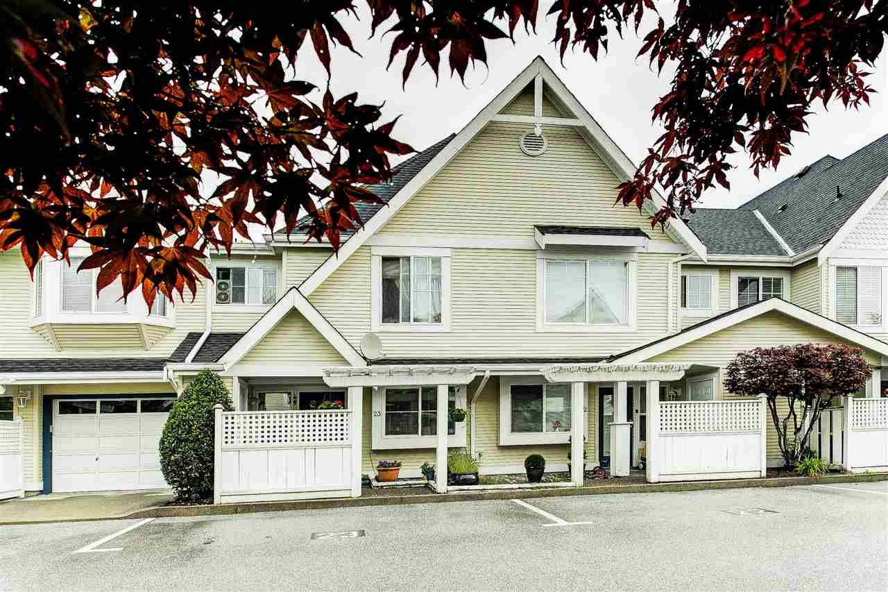 """Main Photo: 23 23575 119 Avenue in Maple Ridge: Cottonwood MR Townhouse for sale in """"Hollyhock North"""" : MLS®# R2593116"""