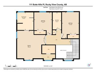 Photo 39: 111 Butte Hills Place in Rural Rocky View County: Rural Rocky View MD Detached for sale : MLS®# A1116161