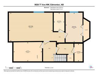 Photo 49: 9826 77 Avenue in Edmonton: Zone 17 House for sale : MLS®# E4253421