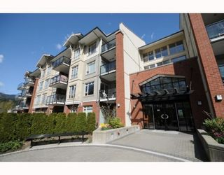"Photo 1: # 321 100 CAPILANO RD in Port Moody: Port Moody Centre Condo  in ""SUTER BROOK"""