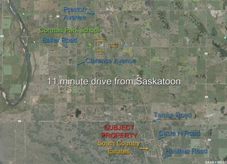 Photo 1: Lot 9 South Country Estates in Dundurn: Lot/Land for sale (Dundurn Rm No. 314)  : MLS®# SK870901