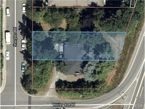 Main Photo: 9527/9529 Sharples Rd in SIDNEY: Si Sidney South-West Land for sale (Sidney)  : MLS®# 715691