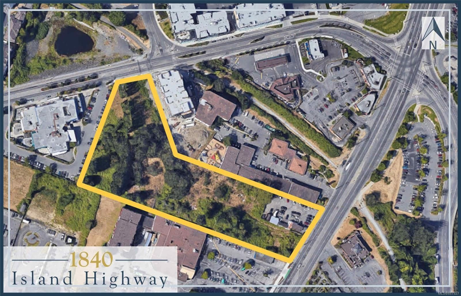 Main Photo: 1840 Island Hwy in : Co Colwood Corners Unimproved Land for sale (Colwood)  : MLS®# 887927