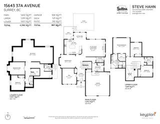 """Photo 39: 15643 37A Avenue in Surrey: Morgan Creek House for sale in """"MORGAN CREEK"""" (South Surrey White Rock)  : MLS®# R2612832"""