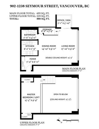 """Photo 29: 902 1238 SEYMOUR Street in Vancouver: Downtown VW Condo for sale in """"SPACE"""" (Vancouver West)  : MLS®# R2571049"""