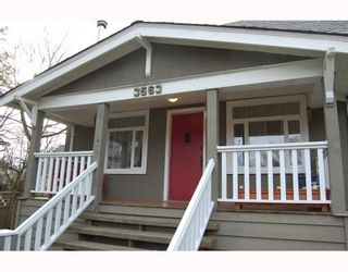 """Photo 9: 3563 HEATHER Street in Vancouver: Cambie House for sale in """"DOUGLAS PARK"""" (Vancouver West)  : MLS®# V753174"""