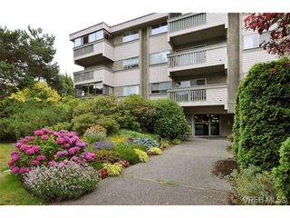 Photo 1: 308 1525 Hillside Ave in VICTORIA: Vi Oaklands Condo for sale (Victoria)  : MLS®# 707337