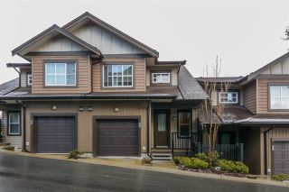 Photo 1: 27 11176 GILKER HILL Road in Maple Ridge: Cottonwood MR Townhouse for sale : MLS®# R2143758
