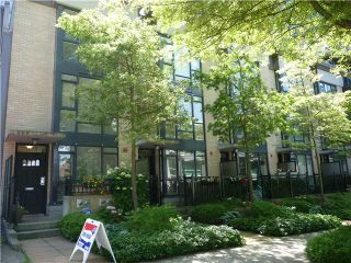 """Photo 14: 1628 W 7TH Avenue in Vancouver: Fairview VW Townhouse for sale in """"Virtu"""" (Vancouver West)  : MLS®# V1067776"""