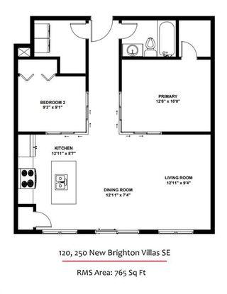 Photo 21: 120 250 New Brighton Villas SE in Calgary: New Brighton Apartment for sale : MLS®# A1140023