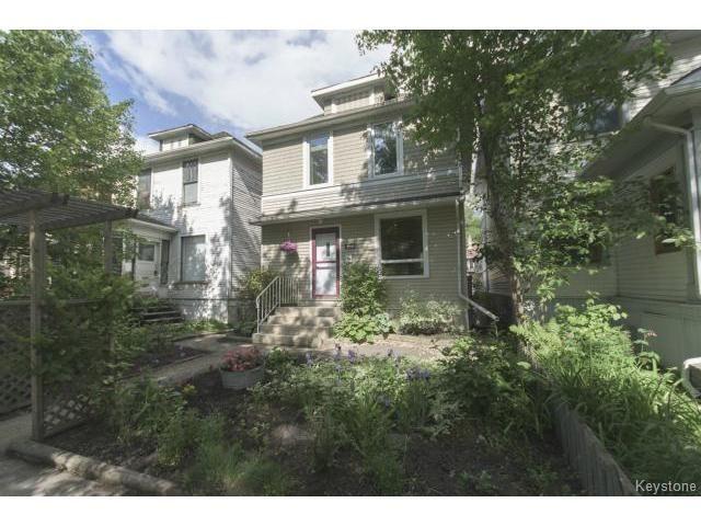 Main Photo: 295 Aubrey Street in WINNIPEG: West End / Wolseley Residential for sale (West Winnipeg)  : MLS®# 1516381